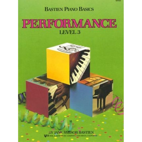 BASTIEN PIANO BASICS: PERFORMANCE LEVEL 3
