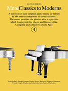 MORE CLASSICS TO MODERNS BOOK 4 PIANO
