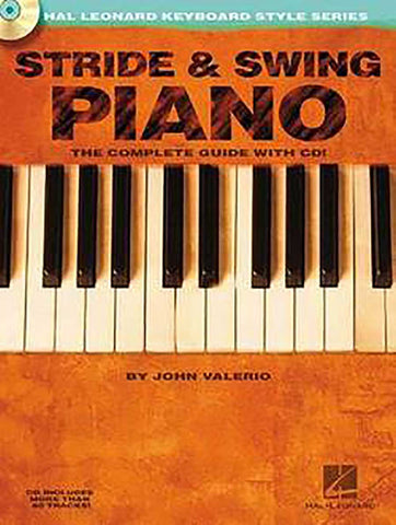STRIDE & SWING PIANO /CD