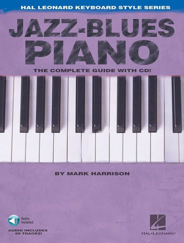 JAZZ BLUES PIANO /CD