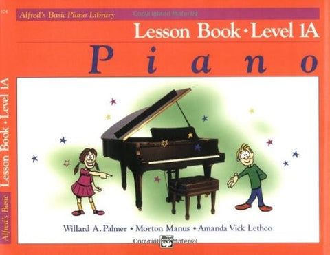 ALFRED´S BASIC PIANO COURSE COMPLETE LESSON 1A
