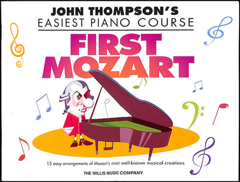 FIRST MOZART EASIEST PIANO COURSE