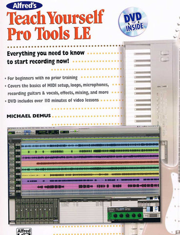 TEACH YOURSELF PRO TOOLS LE CON DVD