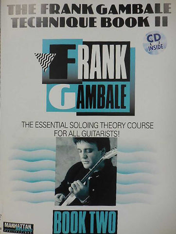 FRANK GAMBALE TECHNIQUE BOOK 2 /CD