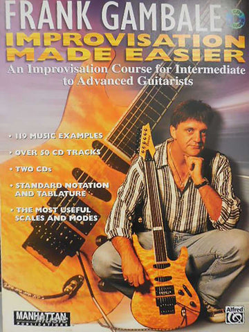 IMPROVISATION MADE EASIER GAMBALE /CD