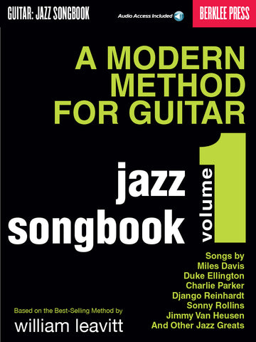 A MODERN METHOD FOR GUITAR – JAZZ SONGBOOK, VOL. 1