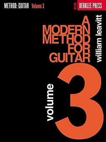 A MODERN METHOD FOR GUITAR – VOLUME 3 BERKLEE PRESS PUNLICATIONS