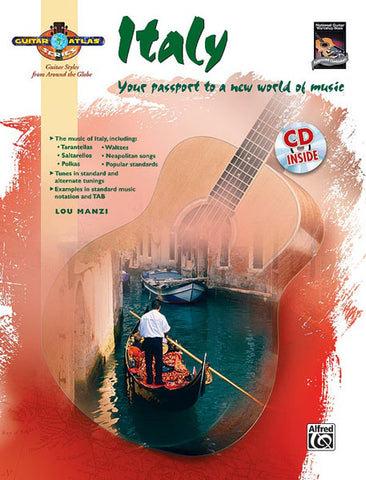 GUITAR ATLAS ITALY /CD