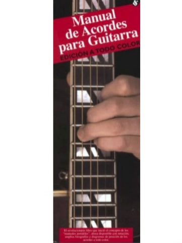 MANUAL DE ACORDES PARA GUITARRA