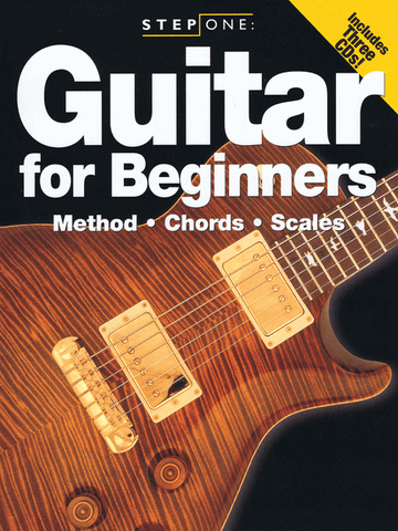 STEP ONE: GUITAR FOR BEGINNERS /CD