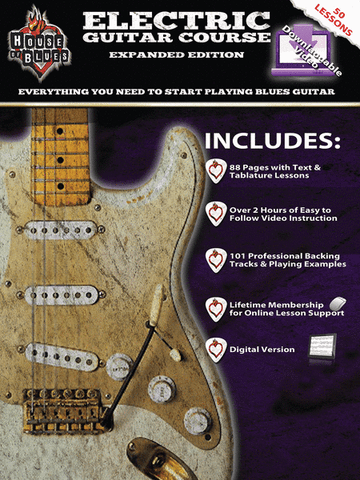 ELECTRIC GUITAR COURSE - HOUSE OF BLUES /DVD
