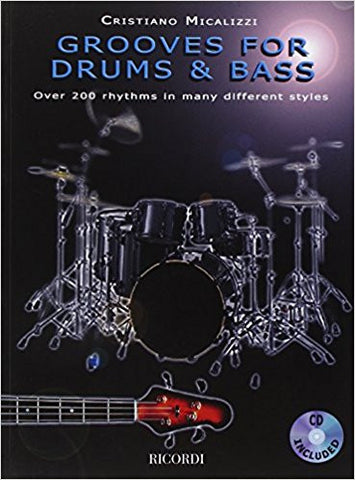 GROOVES FOR DRUMS & BASS /CD
