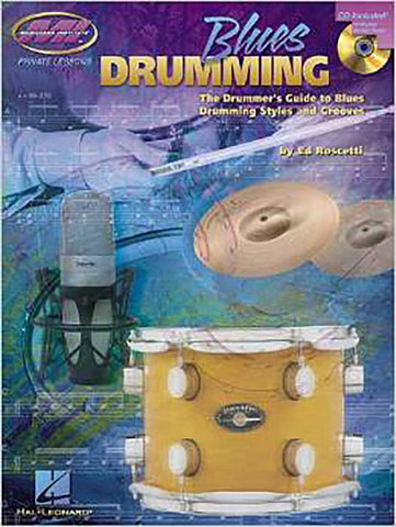 BLUES DRUMMING BOOK CD
