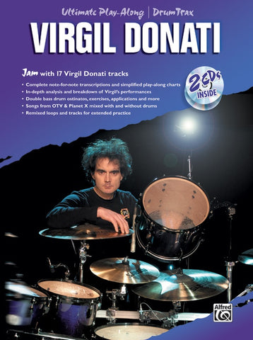 ULTIMATE PLAY ALONG DRUM TRAX: VIRGIL DONATI /CD