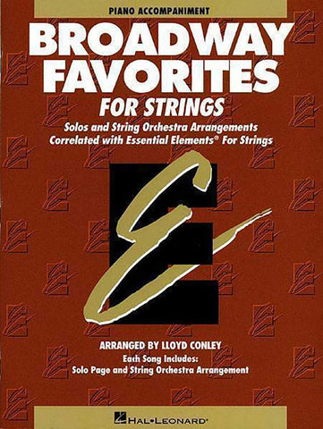 ESSENTIAL ELEMENTS BROADWAY VIOLIN VOL. 1-2
