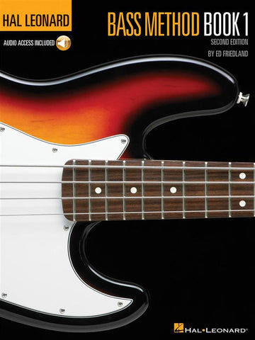 HAL LEONARD BASS METHOD BOOK 1 CD