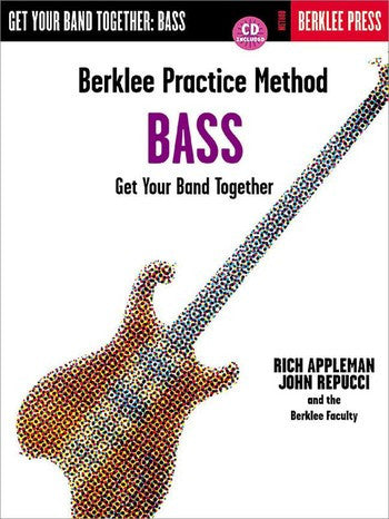 BERKLEE PRACTICE METHOD BASS /CD