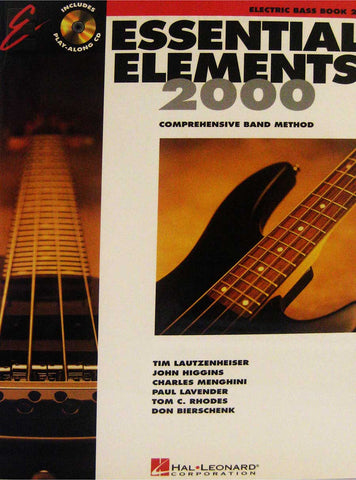 ESSENTIAL ELEMENTS 2000 ELECTRIC BASS BOOK2 /CD