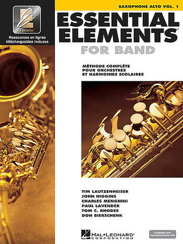 ESSENTIAL ELEMENTS -  SAXOFÓN ALTO VOL. 2 CON DVD