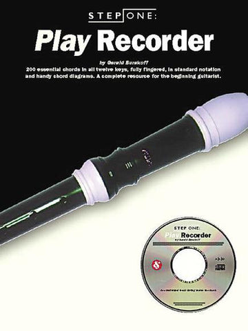 STEP ONE: PLAY RECORDER /CD