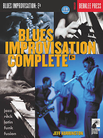 BLUES IMPROVISATION  Eb /CD -BERKLEE PRESS