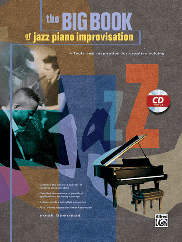 BIG BOOK JAZZ PIANO IMPROVISATION /CD
