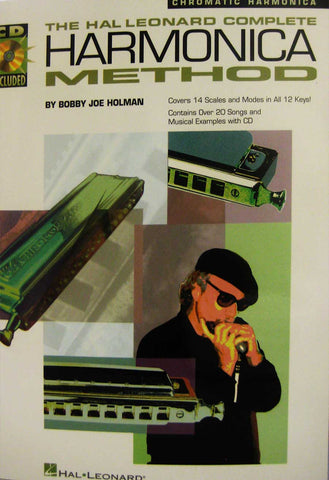 COMPLETE CHROMATIC HARMONICA METHOD /CD
