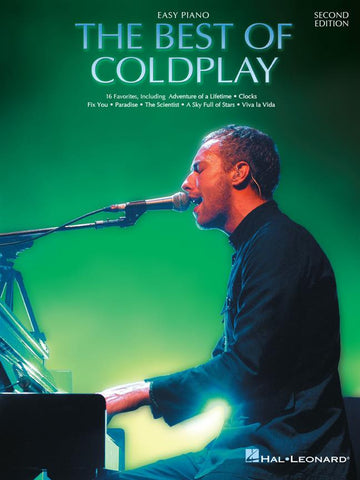 THE BEST OF THE COLDPLAY EASY PIANO