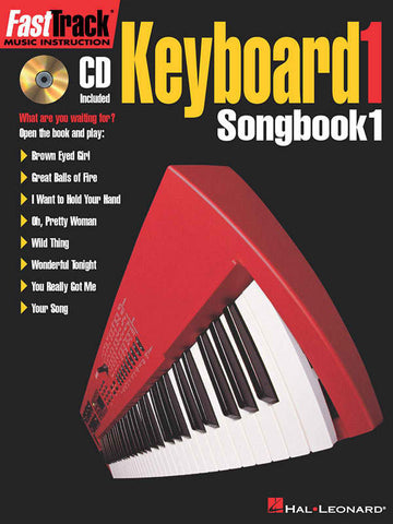 FAST TRACK - KEYBOARD 1 SONGBOOK 1 /CD