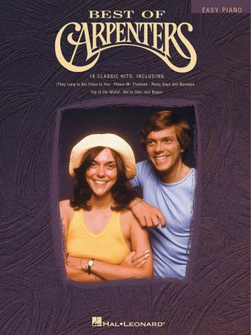 BEST OF CARPENTERS EASY PIANO