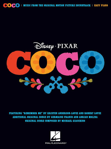 COCO DISNEY-PIXAR EASY PIANO