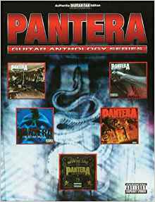 PANTERA GUITAR ANTHOLOGY
