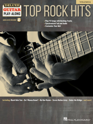 DELUXE GUITAR PLAY ALONG TOP ROCK HITS VOL. 1