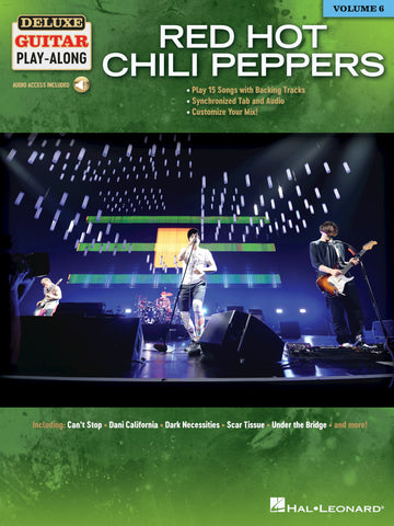 DELUXE GUITAR PLAY ALONG RED HOT CHILI PEPPERS VOL. 6