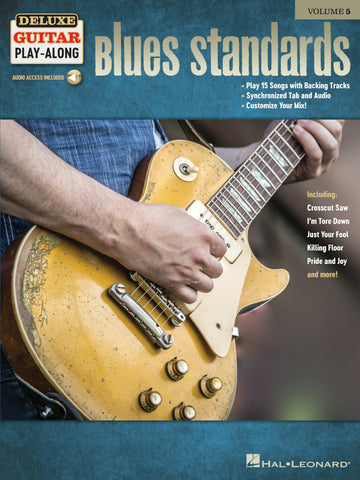 DELUXE GUITAR PLAY ALONG BLUES STANDARDS VOL. 5
