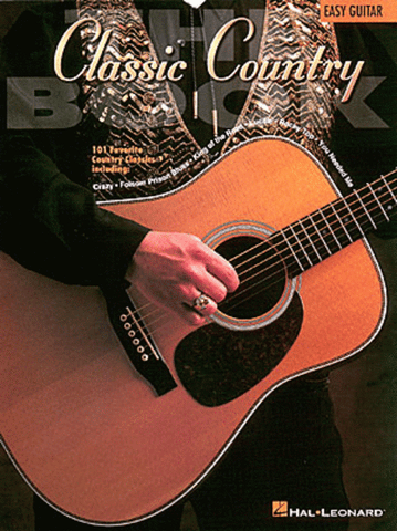 THE CLASSIC COUNTRY BOOK EASY GUITAR