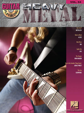 GUITAR PLAY ALONG HEAVY METAL VOL. 54