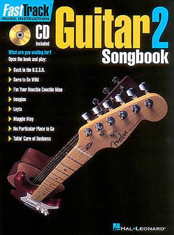 FAST TRACK GUITAR SONG BOOK 1 LEVEL 2 /CD