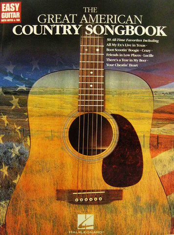 THE GREAT AMERICAN COUNTRY SONG BOOK