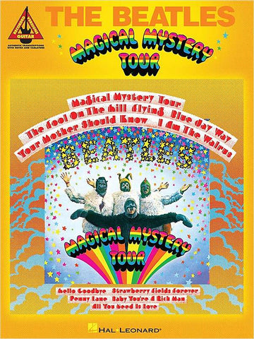 GUITAR RECORDED VERSIONS - THE BEATLES MAGYCAL MYSTERY TOUR