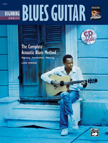 THE COMPLETE ACOUSTIC BLUES METHOD: BEGINNING BLUES GUITAR