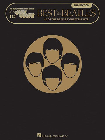 E-Z PLAY BEST OF THE BEATLES 2ND EDITION PIANO