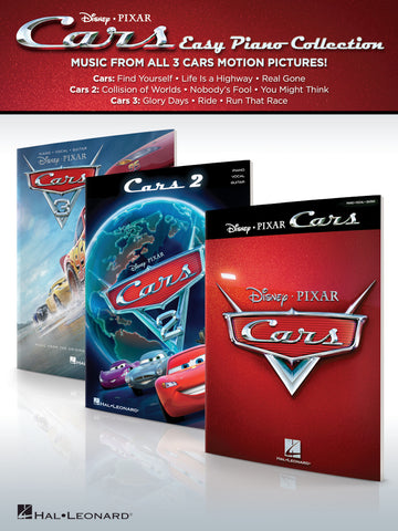 CARS – EASY PIANO COLLECTION MUSIC FROM ALL 3 DISNEY PIXAR MOTION