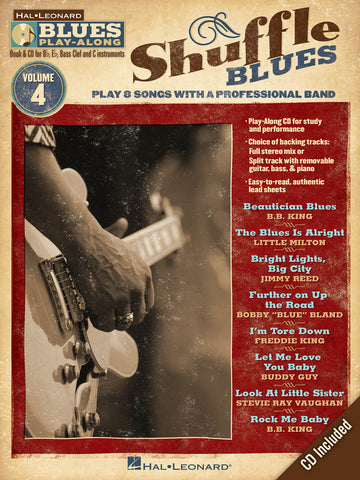 BLUS PLAY ALONG SHUFFLE BLUES VOL. 4