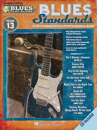 BLUES PLAY ALONG BLUES STANDARDS VOL. 13