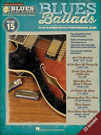 BLUES PLAY ALONG BLUES BALLADS VOL. 15