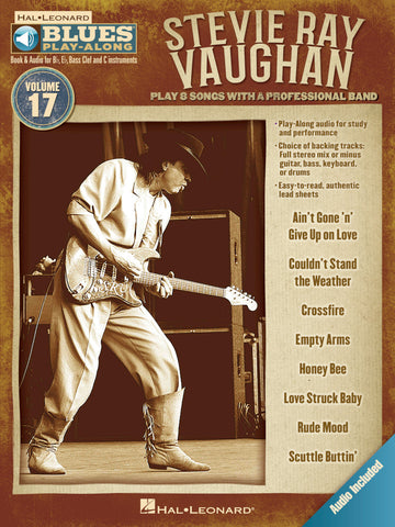 BLUES PLAY ALONG STEVIE RAY VAUGHAN VOL. 17