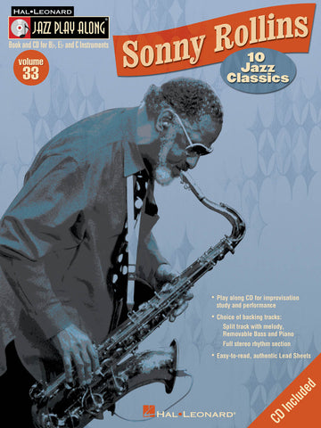 JAZZ PLAY ALONG SONNY ROLLINS VOL. 33