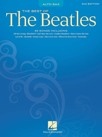 BEST OF BEATLES FOR ALTO SAX