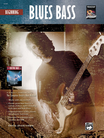 THE COMPLETE ELECTRIC BASS METHOD: BEGINNING BLUES FOR BASS /CD/DVD